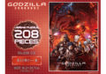 Godzilla City on the Edge of Battle - 208 piece puzzle - 00001