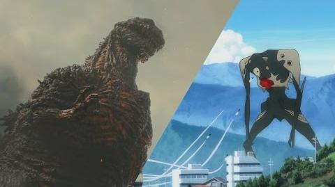 Godzilla x Evangelion The Visual Similarities