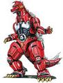 Concept Art - Godzilla vs. MechaGodzilla 2 - MechaGodzilla 2