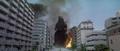 Godzilla vs. Megaguirus - Godzilla walks around the city