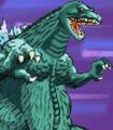 Gojira Godzilla Domination - Battle Sprites - Godzilla