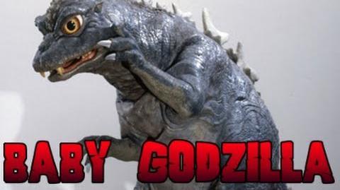 Baby Godzilla Roars (Godzilla vs