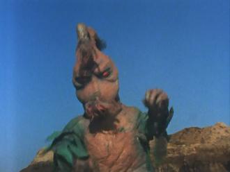 Greenman - Monsters - Alien Tiborus Not So Full