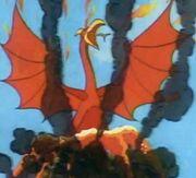 Feuervogel Vulkan