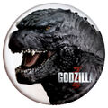 Godzilla 2014 Buttons - Head