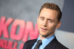 Hiddleston Tom Kong Premiere