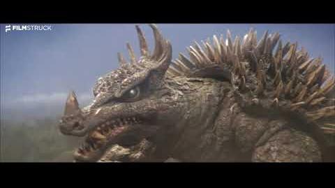 Destroy All Monsters, Ishiro Honda, 1968 - Monster Teamwork Scene