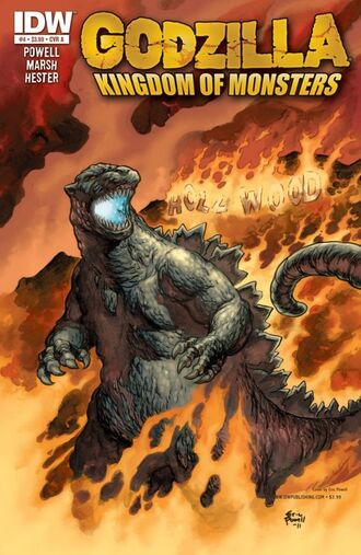 KINGDOM OF MONSTERS Issue 4 CVR A