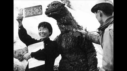 Behind the Scenes Photos Godzilla (1954-1974)