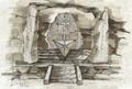 Concept Art - Godzilla Final Wars - Shobijin Cave 2