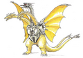 Concept Art - Godzilla vs. King Ghidorah - Mecha-King Ghidorah 1