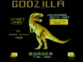 Godzilla Commodore 16 Title