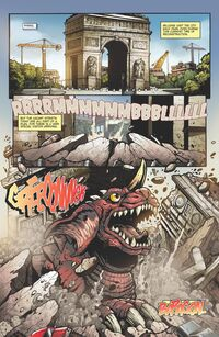 Baragon in the Comic