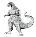Concept Art - Godzilla vs. Destoroyah - Godzilla Junior 10