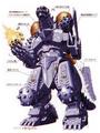 Concept Art - Godzilla Against MechaGodzilla - Kiryu 8