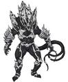 Concept Art - Godzilla Final Wars - Monster X 1