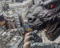 GODZILLA HOTEL CLOSE UP