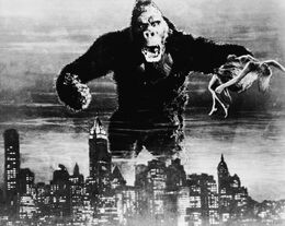 King Kong 1933 Production Pic