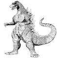 Concept Art - Godzilla vs. Destoroyah - Godzilla Junior 3