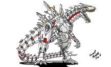 Neo Daikaiju KIRYU by Dino master