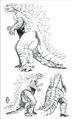 Concept Art - Awakening - Godzilla