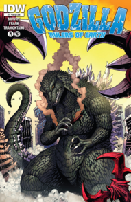 Godzilla Rulers of Earth Edicion -4