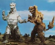 King caesar vs mechagodzilla