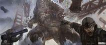 Concept Art - Godzilla 2014 - Kan Muftic 6