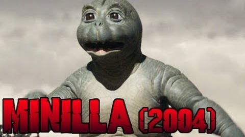 Minilla Roars (Godzilla Final Wars)