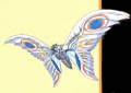 Concept Art - Rebirth of Mothra 3 - Armor Mothra 9