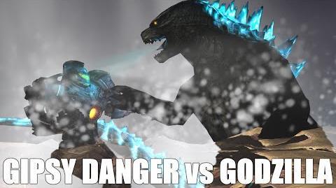 Godzilla vs Gipsy Danger The Movie The Prequel 2