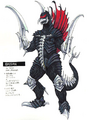 Concept Art - Godzilla Final Wars - Gigan 1