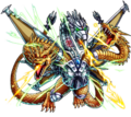 Godzilla X Monster Strike - Mecha-King Ghidorah