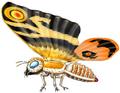 Concept Art - Godzilla Tokyo SOS - Mothra Imago 1
