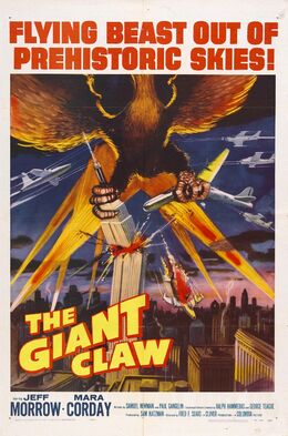 The Giant Claw 1957 USA