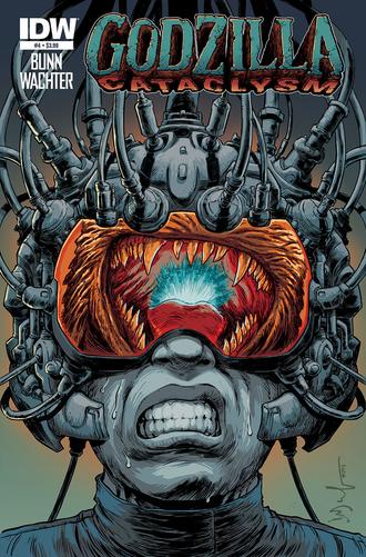 Godzilla Cataclysm Issue 4 CVR A