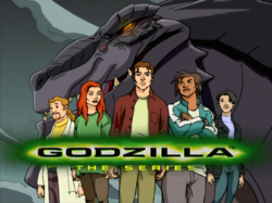 Godzilla The Series title card