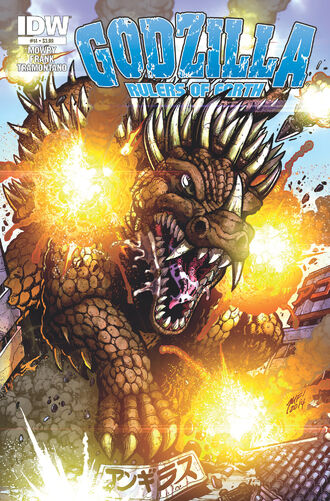 RULERS OF EARTH Issue 14 CVR A