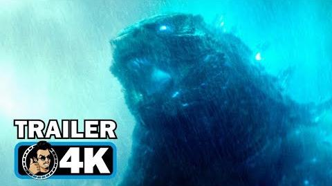 GODZILLA 2 KING OF THE MONSTERS Trailer 1 (4K ULTRA HD)