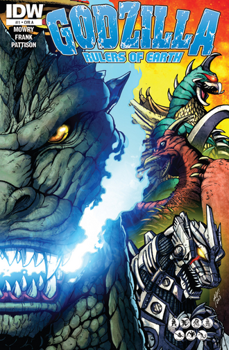 RULERS OF EARTH Issue 1 CVR A