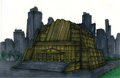 Concept Art - Godzilla Final Wars - Earth Defense Force Headquarters 1