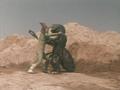Go! Greenman - Episode 2 Greenman vs. Antogiras - 41 - Stick to the throat