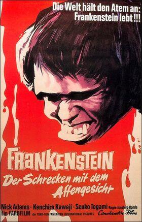 Frankenstein Der Schrecken mit dem Affengesicht