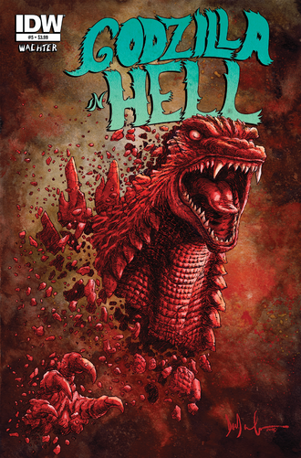 GODZILLA IN HELL Issue 5 CVR A
