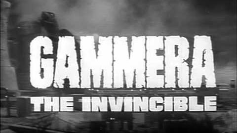 Gammera the Invincible (1966) trailer