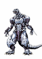 Concept Art - Godzilla Against MechaGodzilla - Kiryu 14