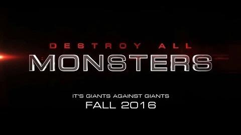 DESTROY ALL MONSTERS (2016) - Teaser Trailer Fan-made Test 1