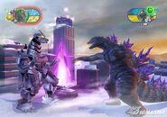 Godzilla vs MechaGodzilla en Godzilla Unleashed