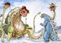 Concept Art - Godzilla vs. Biollante - Godzilla vs. Biollante 2