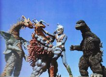 GODZILLA,ZONE FIGHTER BATALLA